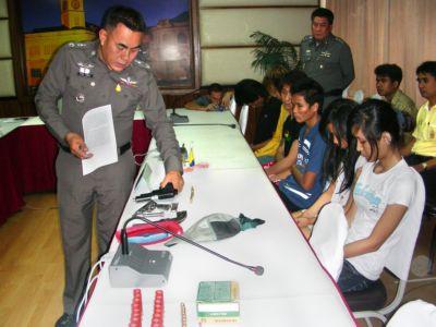 577 pills, 5 guns seized in ya bah bust | The Thaiger