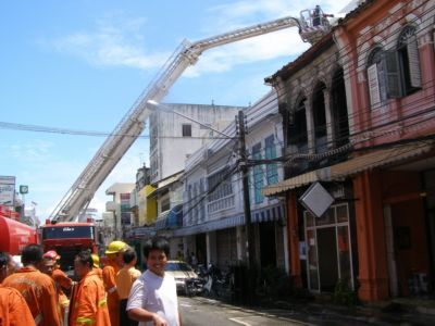 Phuket art gallery gutted by fire   The Thaiger