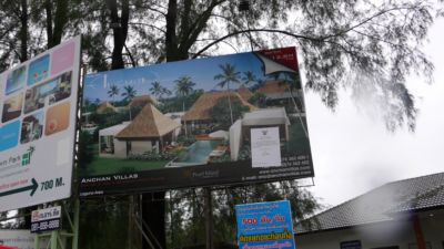 Cherng Talay OrBorTor rallies against illegal billboards | The Thaiger