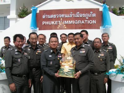 Police Deputy Commissioner opens new Immigration building | The Thaiger
