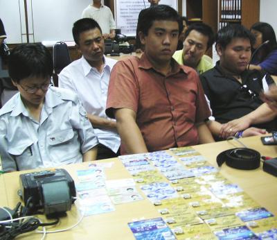 Five more arrested for credit card fraud | Thaiger