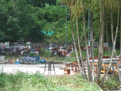 Officials inspect wrecked Kamala resort | The Thaiger