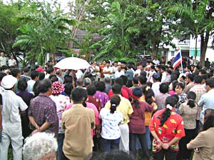 200 villagers demand justice in shooting   The Thaiger