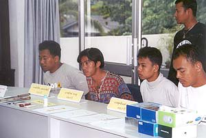 Police nab four highwaymen   The Thaiger