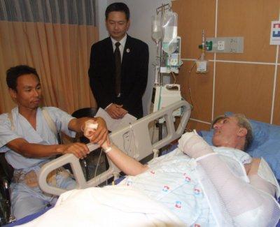 Air-crash mystery hero steps forward | The Thaiger