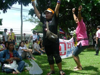 Phuket PAD assembling at Provincial Hall | The Thaiger