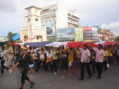 Phuket PAD protests continue; government utilities threatened | The Thaiger