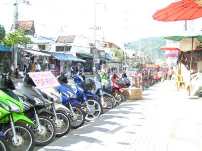 Unlicensed foreigners in 60% of Patong motorbike accidents | The Thaiger