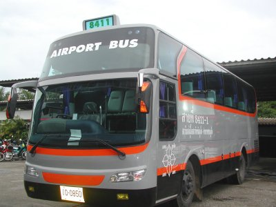 Airport bus service to launch in October   Thaiger