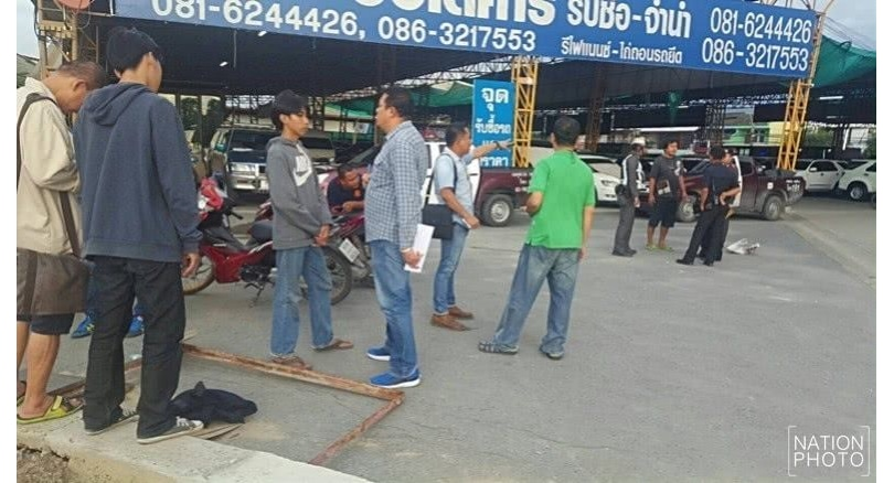 Tech school student shot dead by rival-school students in Pak Kret | The Thaiger