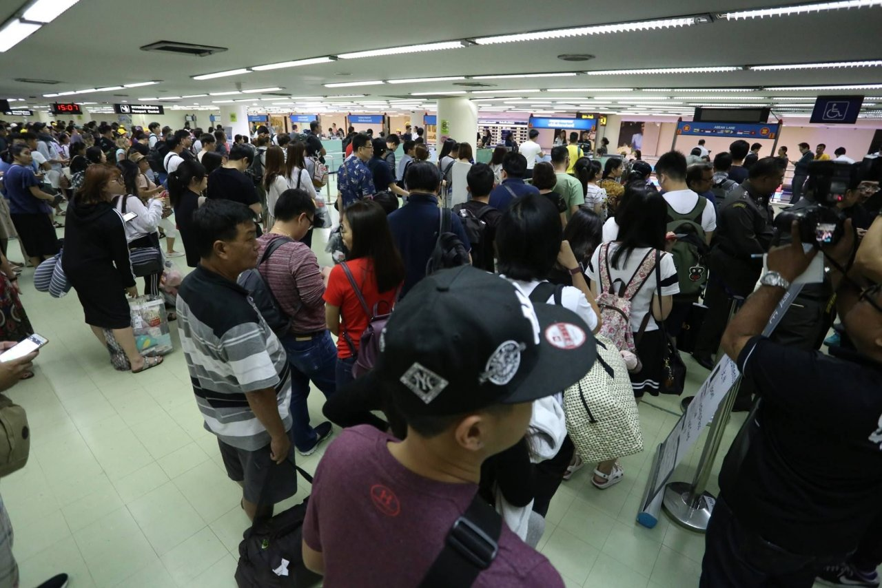 Don Mueang Airport immigration processing times. Idea #78. | The Thaiger
