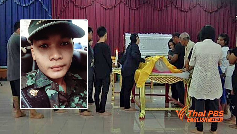 Mother alleges her 21 year old son was beaten to death at military camp | The Thaiger