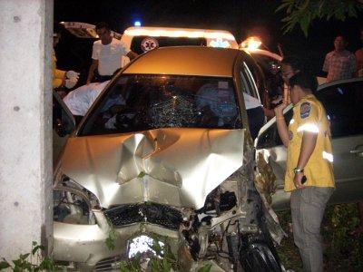 Phuket expat survives high-speed crash | The Thaiger