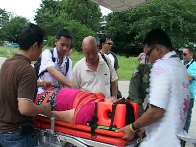 Chinese tourist airlifted after Phuket boat tour | The Thaiger