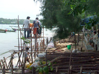 Phuket restaurants race against coastal erosion | The Thaiger
