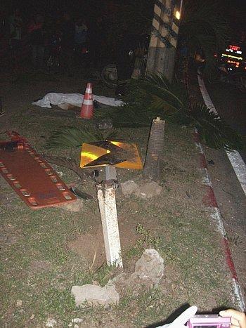 Phuket man killed instantly in motorbike crash | The Thaiger