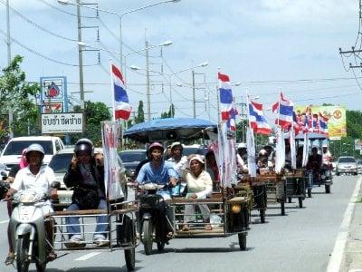 Phuket crackdown on motorbike sidecars | The Thaiger