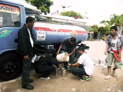 10,000 liters of smuggled gasoline seized in Phuket | The Thaiger