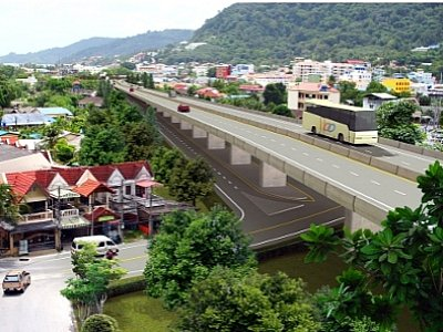 Plans unveiled for Phuket's long-awaited Patong tunnel | The Thaiger