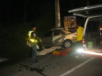 "Driver ""not drinking' in fatal Phuket crash 