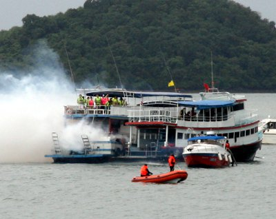 Phuket rescue drill targets sea safety | The Thaiger