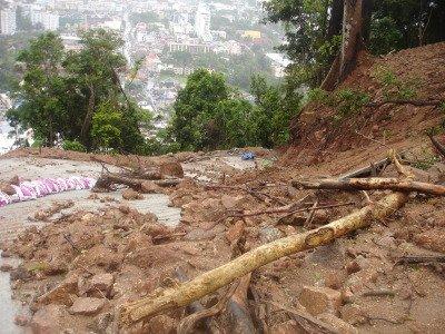Officials visit site of latest Phuket landslide | The Thaiger