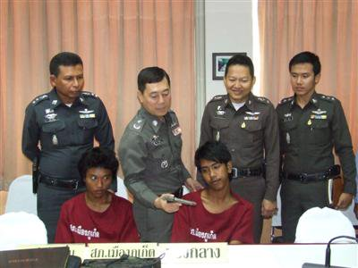 Phuket Police nab teenage murder gang | The Thaiger