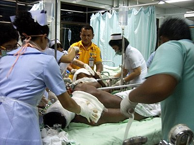 Phuket machete attack puts Burmese workers in ICU | The Thaiger