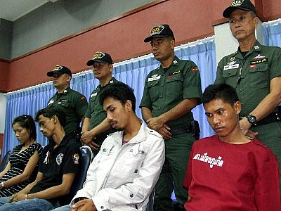Phuket drug haul: 4 suspects, 4 guns and B13.5mn in drugs seized | The Thaiger