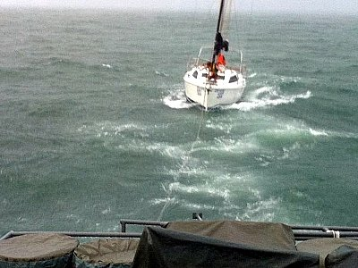 Phuket-bound yacht crew rescued from southern Thailand storm | The Thaiger