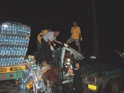 Phuket truck driver killed in roadside crash | The Thaiger