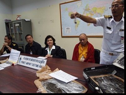 """""""Monk' hash mule nabbed at Phuket Airport 