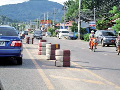 Rubber barriers saving lives in Phuket | The Thaiger