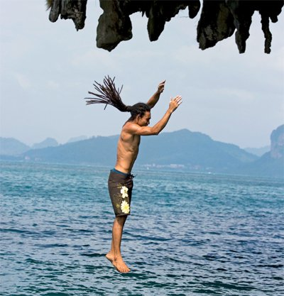 Go jump off a cliff – in Thailand | The Thaiger