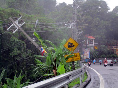 Phuket rain hampers towers of power move | Thaiger