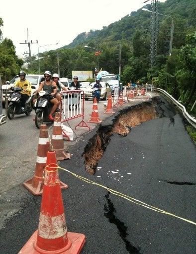 Phuket Landslide Update: Patong Hill slides continue | The Thaiger