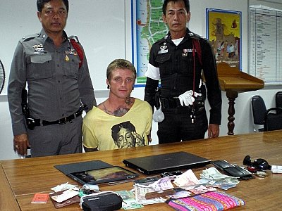 Phuket tourists finger American snatch thief | The Thaiger