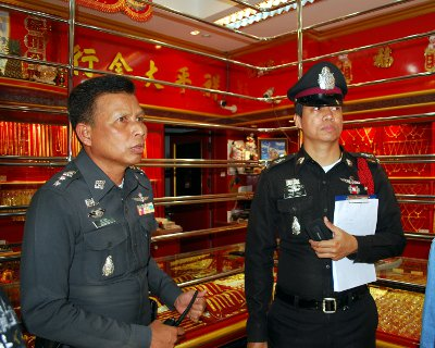 'Amateur' gold thief nabbed by Phuket Police | The Thaiger