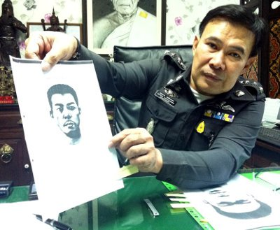 Phuket police launch manhunt, announce B50,000 reward for knife thief | The Thaiger