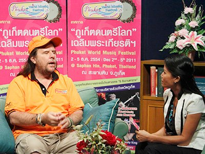 Music idol Todd Tongdee wants to see 'magic mix' of Thais and foreigners at Phuket World Musiq Fest   The Thaiger