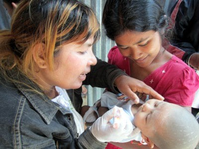 World Vision rolls out anti-polio campaign in Phuket | The Thaiger