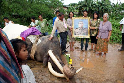 Villagers mourn death of Plai Sang, 67 | The Thaiger