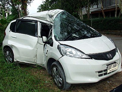 Young dad dies in high-speed Phuket crash | The Thaiger