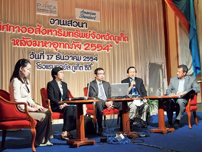 Floods won't harm Phuket construction sector: P-REA | The Thaiger