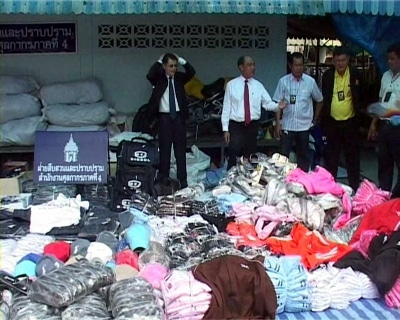 Phuket raids land 15mn baht in pirated goods | The Thaiger