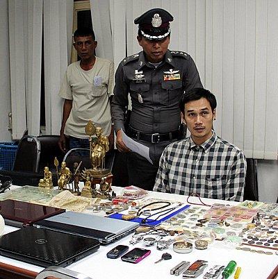 Phuket police nab sacrilegious burglar | The Thaiger