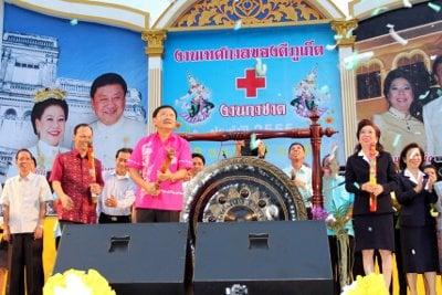 Gov Tri gets Red Cross Fair underway | The Thaiger