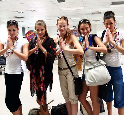Czech beauties arrive in Phuket   The Thaiger