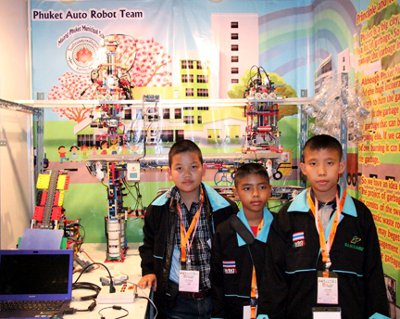 Phuket students honored for win at World Robot Olympiad   The Thaiger
