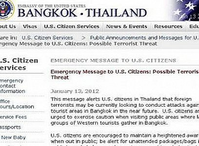 BREAKING NEWS: US Embassy warns of possible terrorist attack in Bangkok | The Thaiger